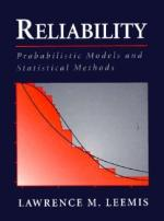 Reliability: Probabilistic Models and Statistical Methods