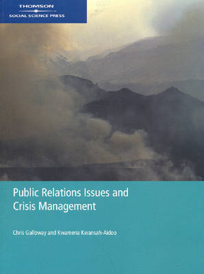 Public Relations Issues and Crisis Management: Asia, Australia and New Zealand