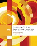 Bundle: Statistics for the Behavioural Sciences + Aplia Notification Card