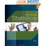 Bundle:Statistics for Management and Economics (with Bind-In Printed Access Card) + Aplia Notification Card