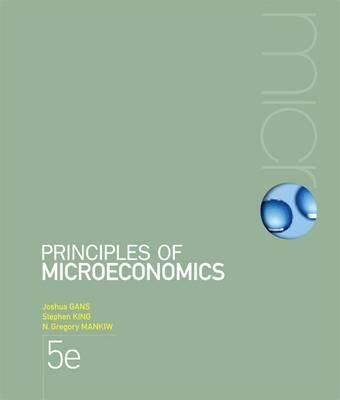 Bundle: Microeconomics : Case Studies and Applications + Principles of Economics