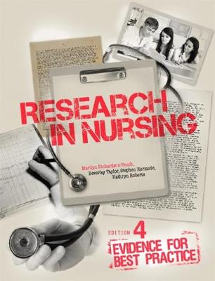 Research in Nursing Evidence for Best Practice 4th Edition