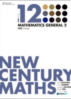 New Century Maths 12 Mathematics General 2 HSC Course