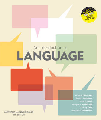 An Introduction to Language with Student Resource Access 12 months - Aust & NZ Edition (new copies only)