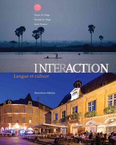 Bundle: Interaction : Langue Et Culture + Student Activities Manual + Sam Answer Key with Audio Script + Premium Web Site Printed Access Card