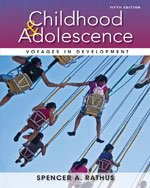 Bundle: Childhood and Adolescence : Voyages in Development + Coursemate Printed Access Card