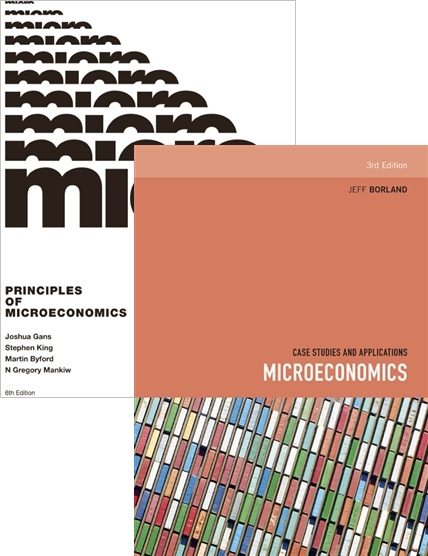 Bundle: Principles of Microeconomics with Student Resource Access 12 Months + Microeconomics: Case Studies and Applications