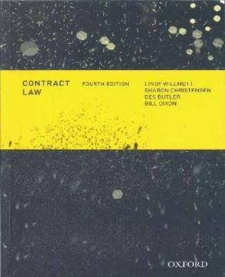 Contract Law Commentaries, Cases & Perspectives 2e