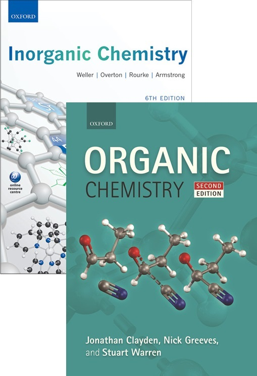 Organic Chemistry 2nd Edition + Inorganic Chemistry 6th Edition (Value Pack)