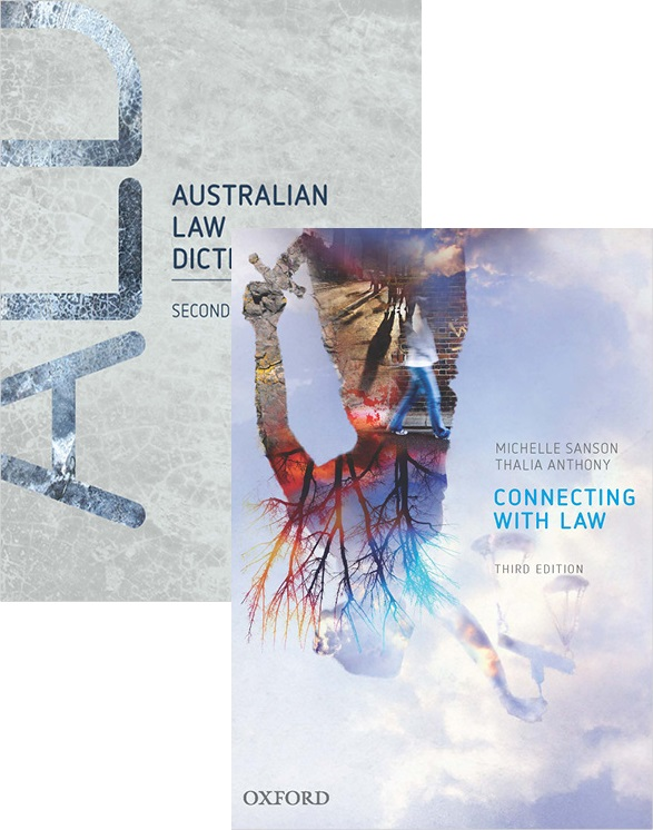 Connecting With Law 3rd edition & Australian Law Dictionary 2nd edition Value Pack