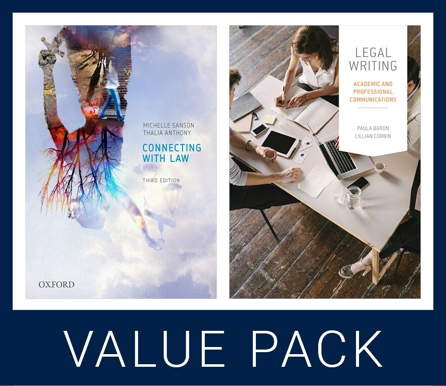 Connecting with Law 3e and Legal Writing Value Pack