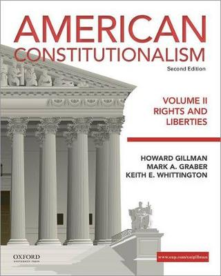 American Constitutionalism: Volume 2: Structures of Government
