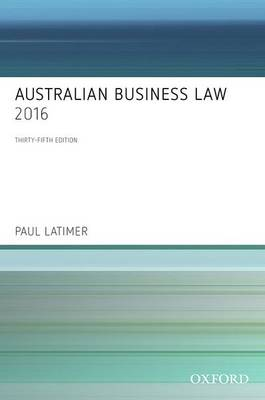 Australian Business Law: 2016