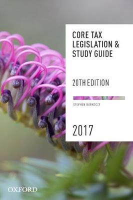 Core Tax Legislation and Study Guide 2017