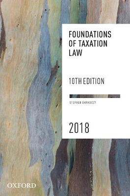 Foundations of Taxation Law 2018