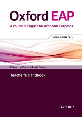 Oxford EAP B1+ Teacher's Book, DVD, and Audio CD Pack