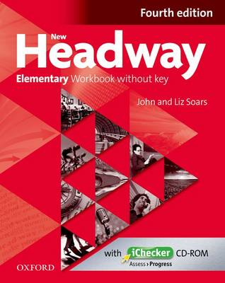 New Headway Elementary Workbook Without Key & iChecker CD-ROM Pack
