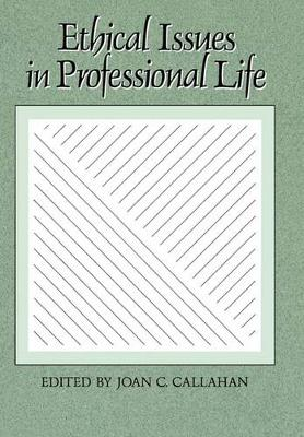 Ethical Issues in Professional Life