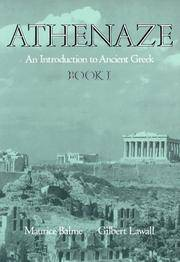 Athenaze: Introduction to Ancient Greek: Bk.1