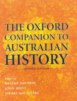 The Oxford Companion to Australian History