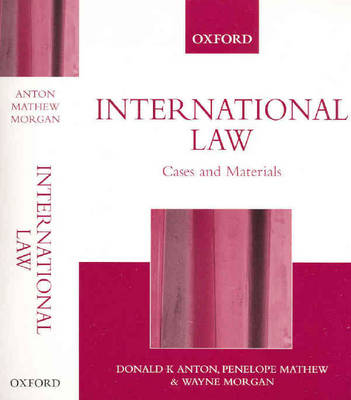 Cases and Materials on Public International Law