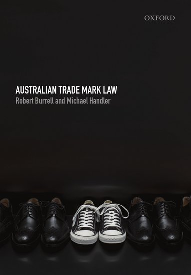 Australian Trade Mark Law Ebook