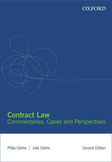 Contract Law Ebook: Commentary, Cases and Perspectives
