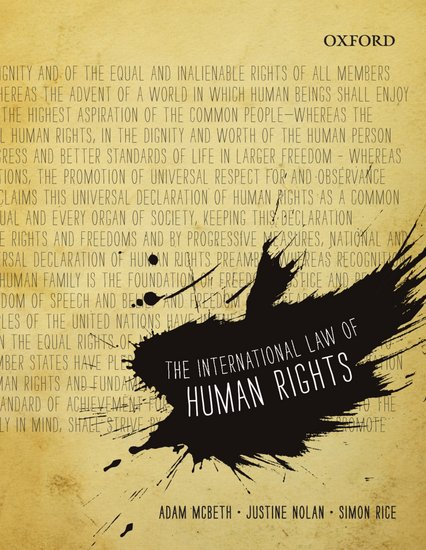 The International Law of Human Rights (VitalSource eBook)