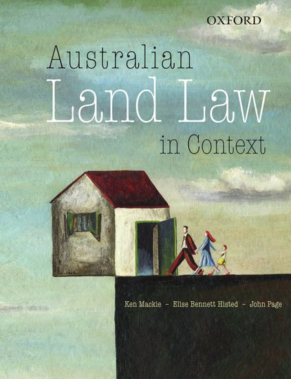 Australian Land Law in Context (VitalSource eBook)