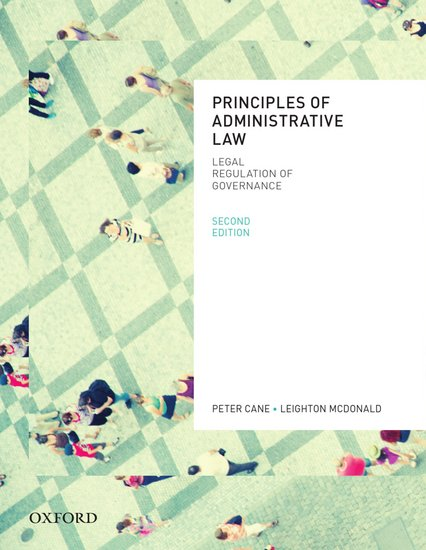 Principles of Administrative Law Ebook
