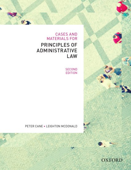 Cases & Materials on Administrative Law Ebook