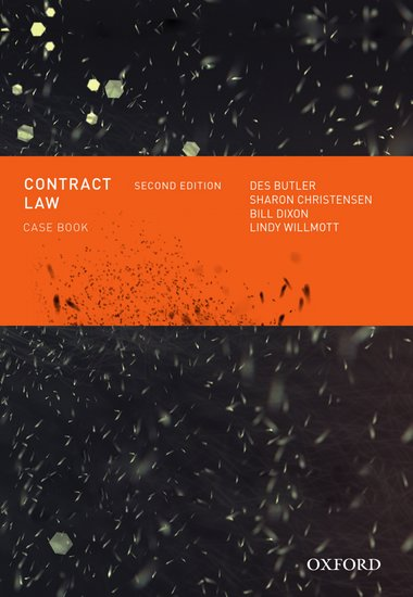 Contract Law Casebook Ebook
