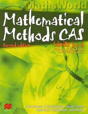 Mathematical Methods Units 3 & 4, 2ed