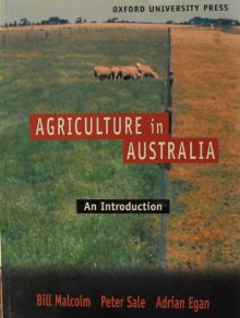 Agriculture in Australia: an Introduction: An Introduction