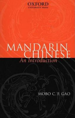 Mandarin Chinese: An Introduction