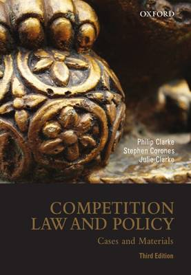 Competition Law and Policy: Cases and Materials