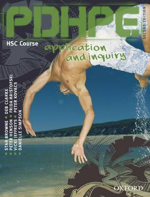 Pdhpe Application and Enquiry Hsc Second Edition