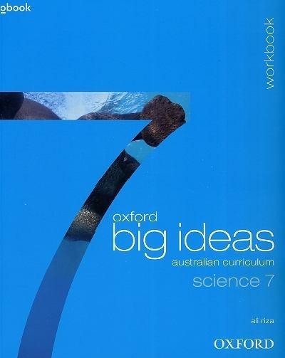 Oxford Big Ideas Science 7: Australian Curriculum Texbook + Obook + Workbook