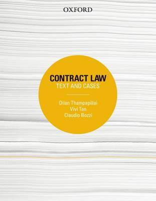 Contract Law Text and Cases 1st Edition