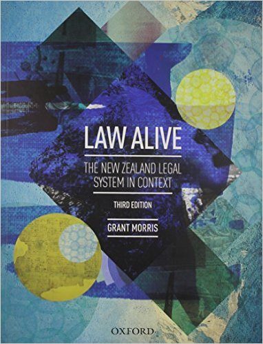 Law Alive: The New Zealand Legal System in Context (VitalSource eBook)