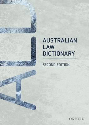 Australian Law Dictionary Ebook