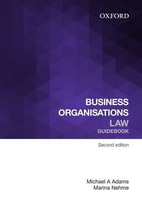 Business Organisations Law Guidebook Ebook