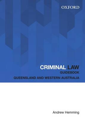 Criminal Law Guidebook Ebook