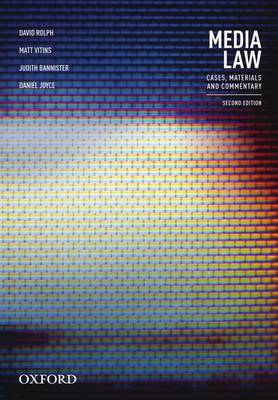 Media Law: Cases, Materials and Commentary