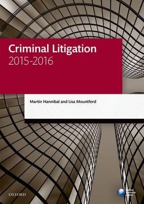 Criminal Litigation 2015-2016