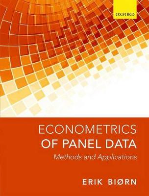 Econometrics of Panel Data: Methods and Applications