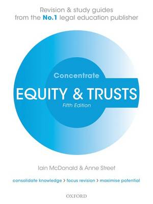 Equity & Trusts Concentrate: Law Revision and Study Guide