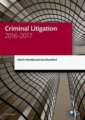 Criminal Litigation 2016-2017