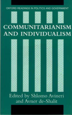 Communitarianism and Individualism