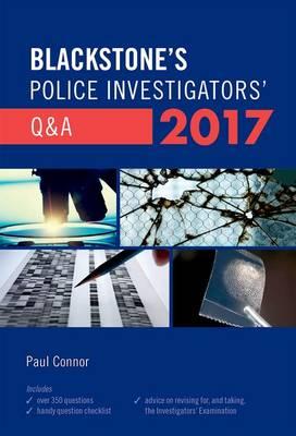 Blackstone's Police Investigators' Q&A 2017